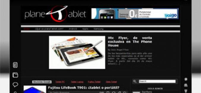 Nace 'planeTablet', un blog que aborda el mundo de los tablets