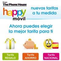 Nuevas tarifas Happy móvil