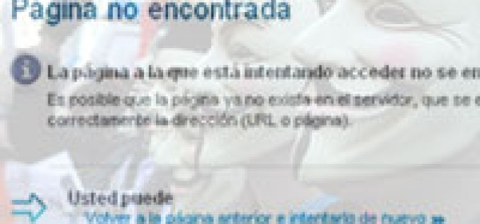 Anonymous ataca a Movistar