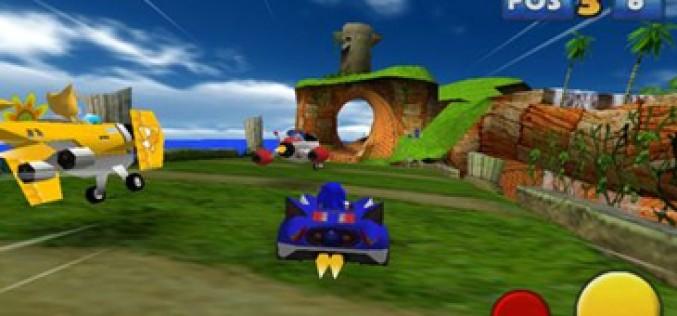 'Sonic & Sega All Stars Racing' arranca en la App Store