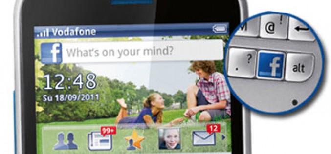Vodafone 555 Blue: el primer smartphone de prepago con Facebook integrado