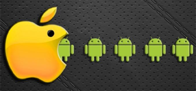 Por cada tablet con Android se venden 24 iPads