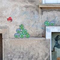 Muro 'Angry Birds'