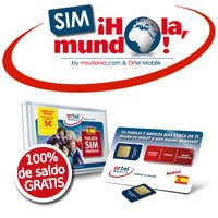 'SIM ¡Hola, mundo!' by movilonia.com & Ortel Mobile