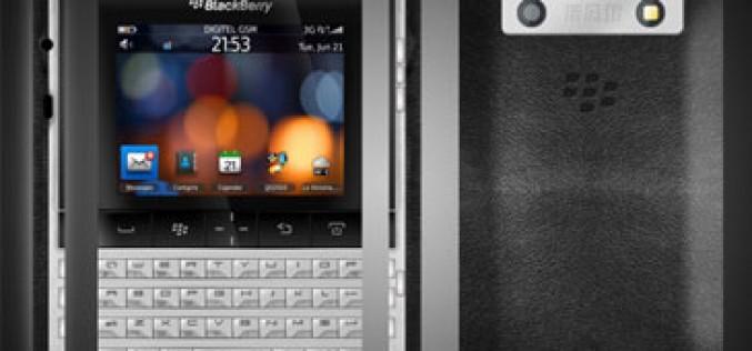 Porsche diseña la nueva BlackBerry Bold 9980