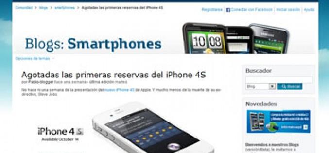Movistar también venderá el iPhone 4S