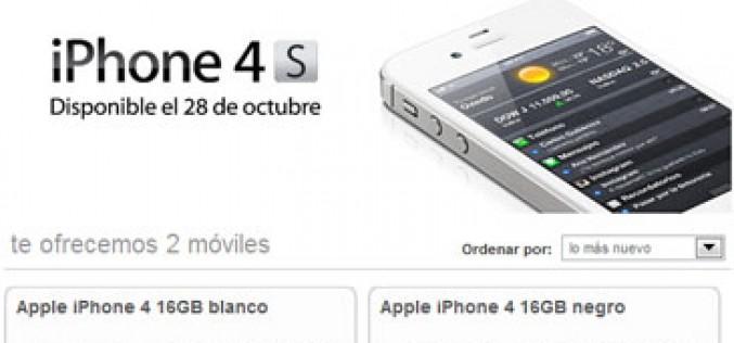 Orange también confirma que tendrá el iPhone 4S