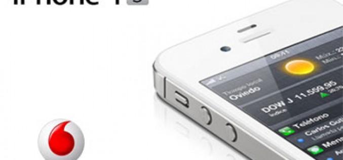 Vodafone, última en desvelar el precio del iPhone 4S