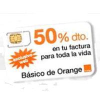 Básico de Orange con un 50% de descuento