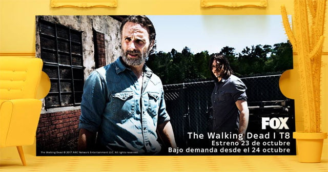 The Walking Dead, en Sky España