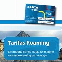 Digimóbil añade el servicio de roaming