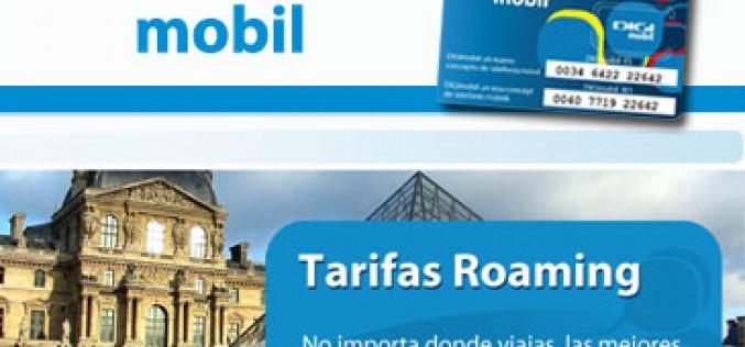 DIGI mobil incorpora los servicios de roaming y recarga online