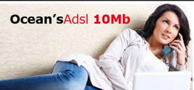 Ocean's rebaja el ADSL de 10MB a sus clientes de móvil