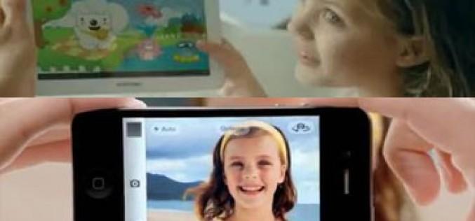 Samsung también imita la publicidad de Apple