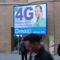 anuncio de 4G