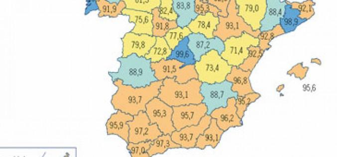 Las ciudades españolas con mejor y peor cobertura 3G