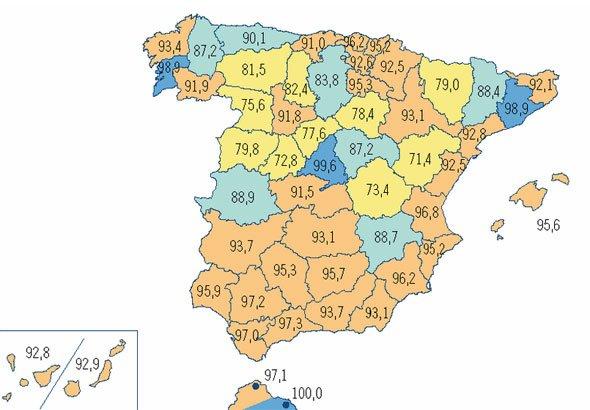 Mapa De Cobertura Yoigo.Las Ciudades Espanolas Con Mejor Y Peor Cobertura 3g