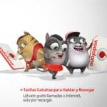 Tarifas prepago de Vodafone