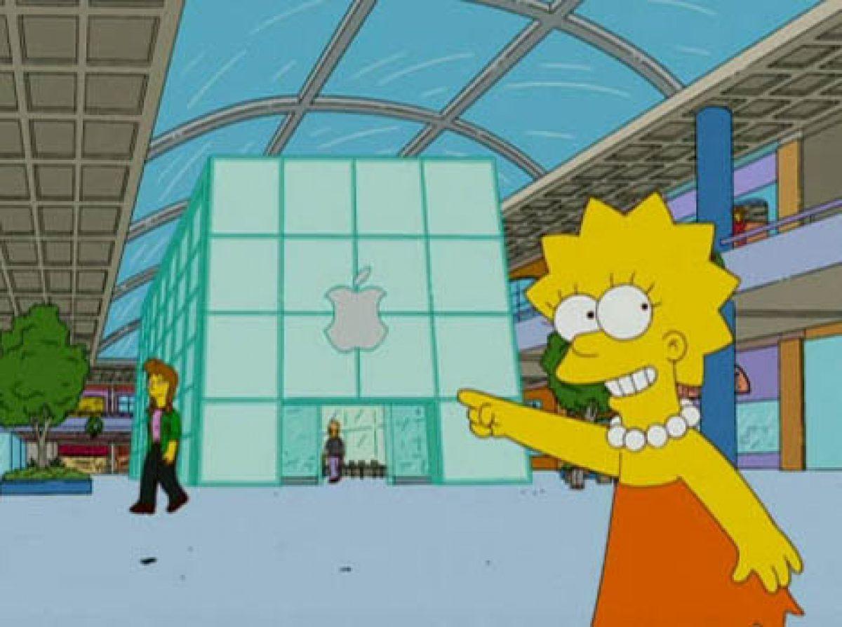 Los Simpson y Apple