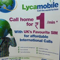 Lycamobile usa la red de Vodafone
