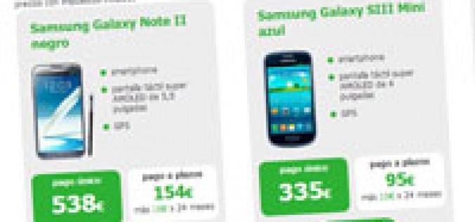 Amena incorpora una tienda online de móviles