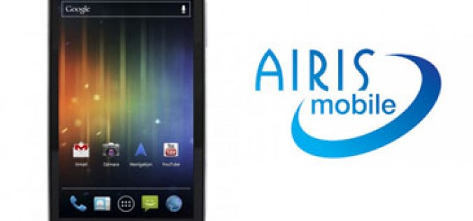Airis Mobile, primer OMV de un fabricante de smartphones