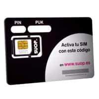 Tarjeta SIM de Suop