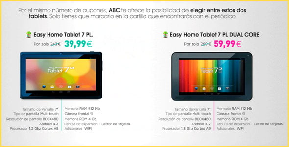 El Best Buy Easy Home Tablet 7 PL de ABC