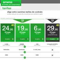 Nuevas tarifas Amena.com