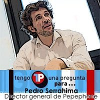 Pedro Serrahima, director general de Pepephone, responderá vuestras preguntas.