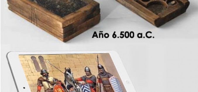 El primer tablet de la historia es bizantino