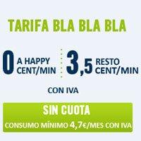 'Bla Bla Bla' es una tarifa pensada para los usuarios que sólo quieran llamar.