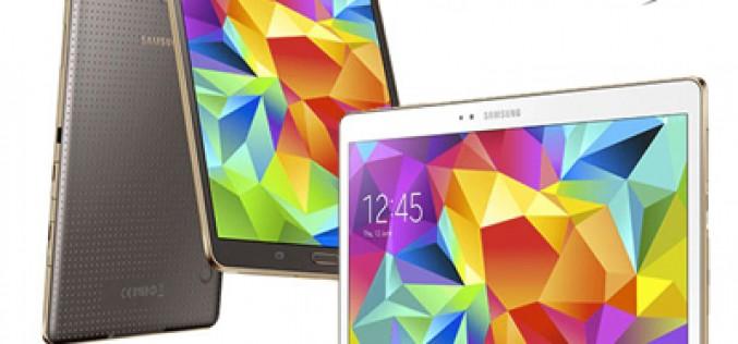 Todo lo que debes saber sobre los nuevos tablets Samsung Galaxy Tab S