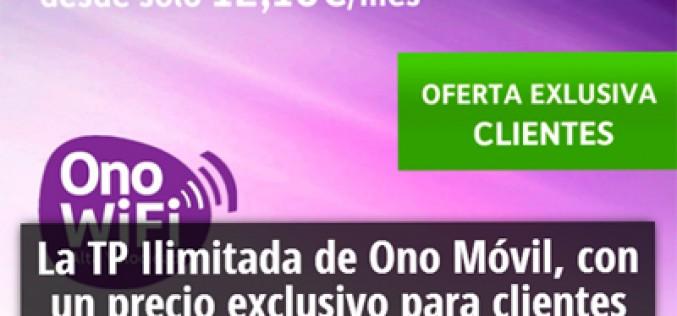 Ono quiere cuidar a sus clientes: 1GB y llamadas ilimitadas por 12,1 euros