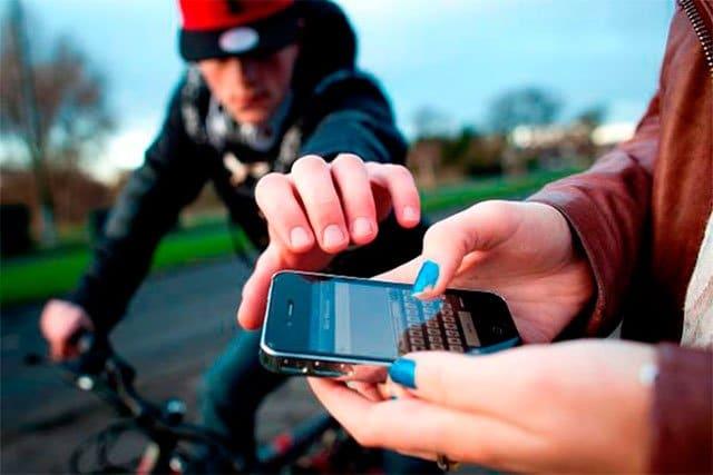 robo de móvil en verano