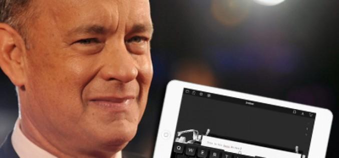 Tom Hanks desarrolla una app para hipsters