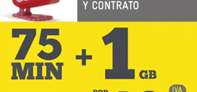 75 minutos y 1GB por 10 euros al mes, el nuevo bono de Masmóvil