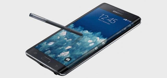 El llamativo diseño del Samsung Galaxy Edge no es baladí: facilita el uso de aplicaciones.
