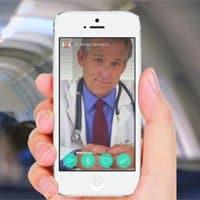 Aplicaciones como 'HealthTap' permite tener a un médico en la palma de la mano.