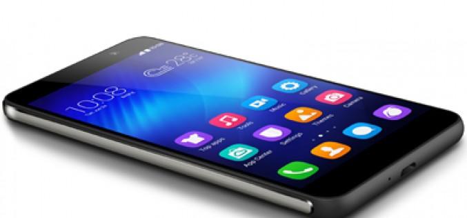 Honor 6 llega al mercado como «el smartphone 4G más rápido»