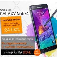 El Samsung Galaxy Note 4 ya está disponible en la tienda online de Orange.