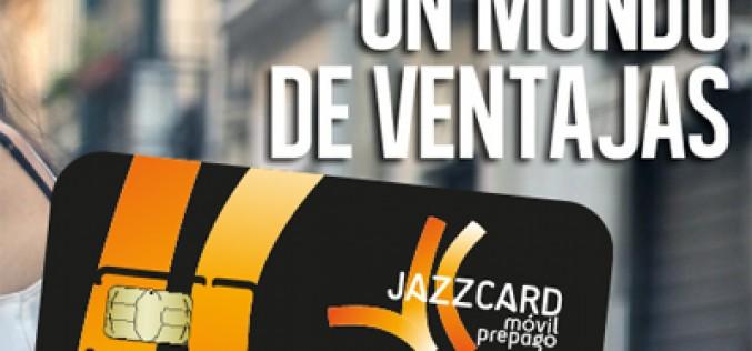 Jazzcard Móvil añade Bono Combi: 100 minutos y 1GB por 10 euros al mes