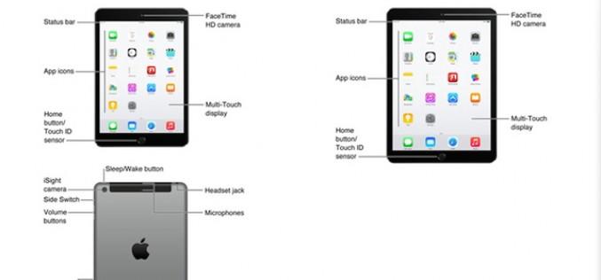 Nuevos iPad Air 2 y iPad mini 3, filtrados