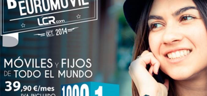 1.000 minutos y 1GB por 39,9 euros al mes, lo nuevo de LCR Móvil