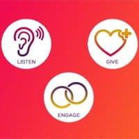 Escuchar, dar y conectar importan a la hora de ser considerada una marca generosa.