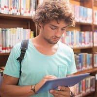 Cada vez más estudiantes utilizan las nuevas tecnologías con fines educativos.