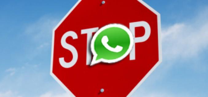 Razones por las que nos pueden echar de WhatsApp