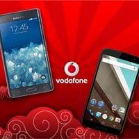 Los 2 terminales, junto con el iPhone 6, serán las 'joyas de la corona' del catálogo de Vodafone.