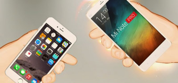 ¿Cambiar un iPhone por un Xiaomi Mi Note?