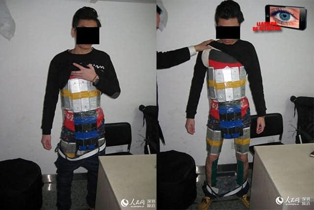 [Llamada de atención]: 94 iPhone procedentes de Hong Kong fueron los que el contrabandista intentó colar en la China continental para su reventa.